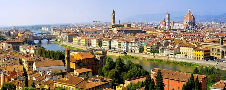 Şehir Panoraması - Floransa
