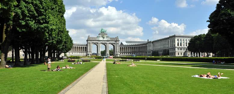 Cinquantenaire Parkı'da Yaz - Brüksel