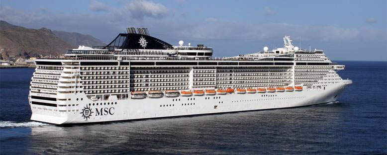 MSC Fantasia ile Akdeniz