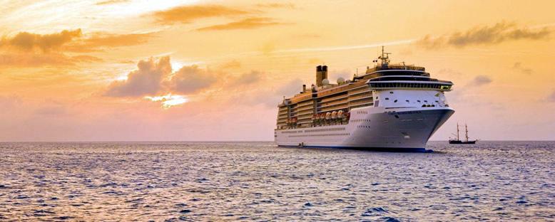 Günbatımı Manzarası - Costa Mediterranea