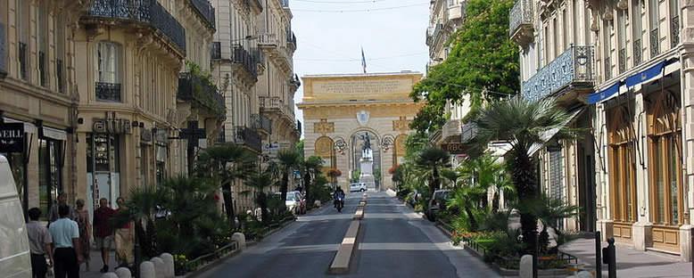 Rue Foch - Montpellier