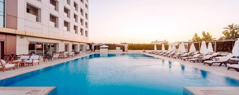 Açık Havuz - Grand Pasha Hotel
