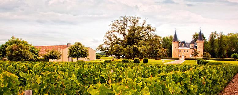 Şarap Üreticisi Şatolar - Bordeaux