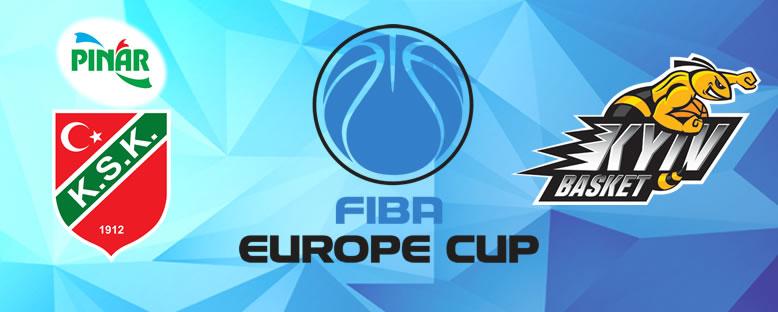 BC Kiev Basket - Pınar Karşıyaka FIBA Europacup 2020 Maçı
