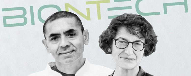 BioNTech'in Kurucuları Uğur Şahin ve Özlem Türeci