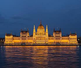 Budapeşte parlamento