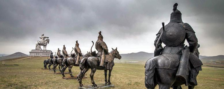 Cengiz Han Anıtı Kompleksi - Ulan Bator