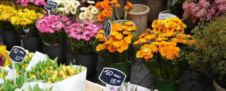 Çiçek Tezgahları - Amsterdam