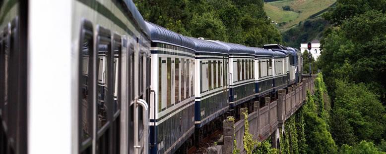 El Gran Luja Treni ile Kuzey İspanya & Bask Bölgesi
