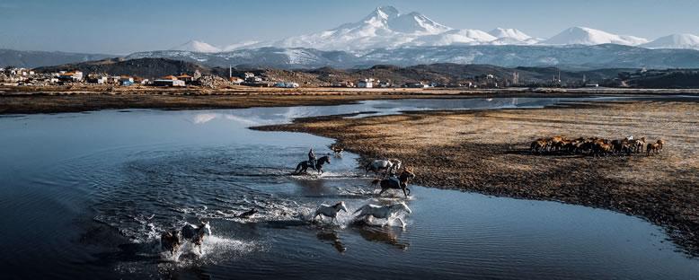 Erciyes Daği Manzarası - Kayseri