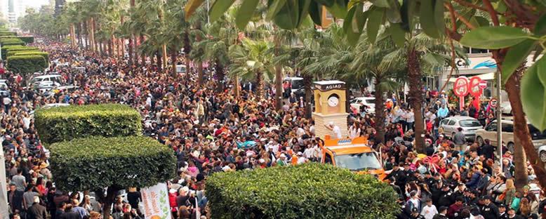 Festival Korteji - Portakal Çiçeği Karnavalı