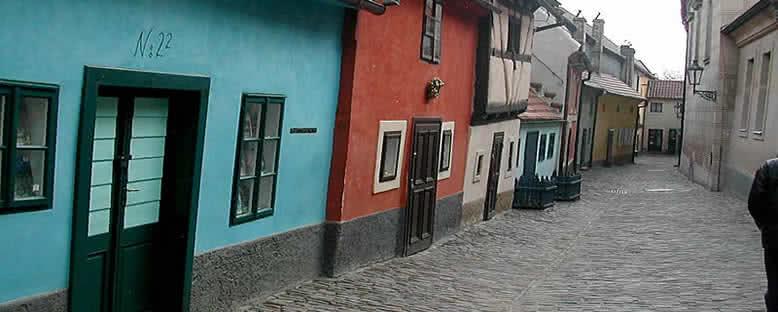 Franz Kafka'nın Yaşadığı Ev ve Sokak - Prag