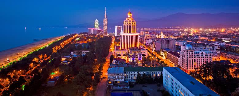 Gece Manzarası - Batum