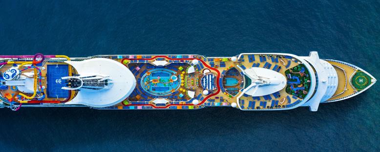 Havadan Görünüm - Navigator of the Seas
