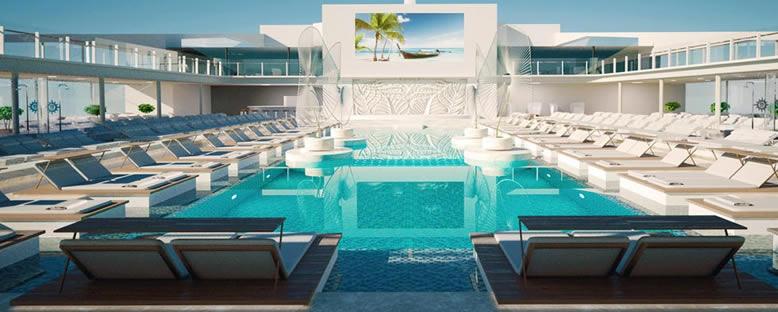 Havuz Alanı - MSC Grandiosa