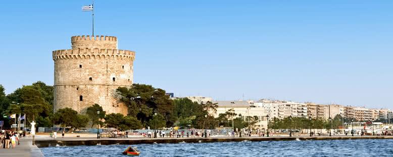 Beyaz Kule Manzarası - Selanik