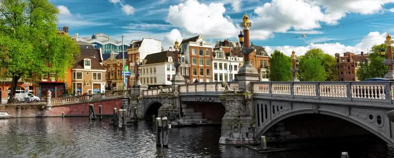 Kanal Manzarası - Amsterdam