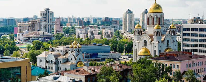 Kent Manzarası - Ekaterinburg