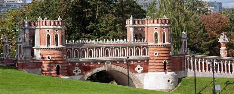 Tsaritsyno Parkı - Moskova