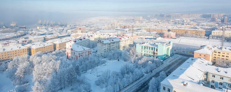 Kış Manzarası - Murmansk