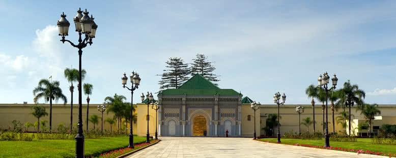 Kraliyet Sarayı Girişi - Rabat