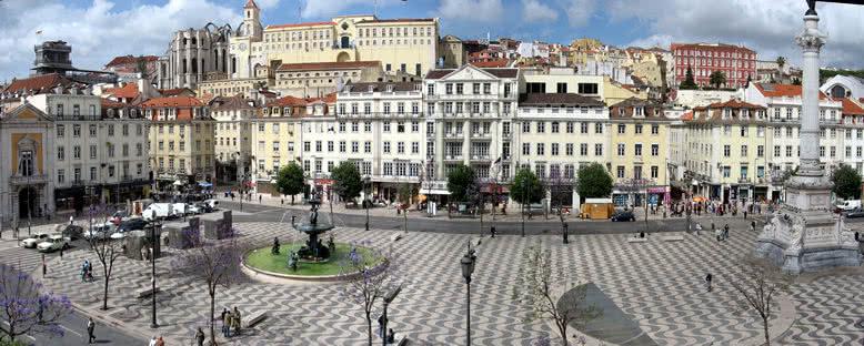 Rossio Meydanı - Lizbon