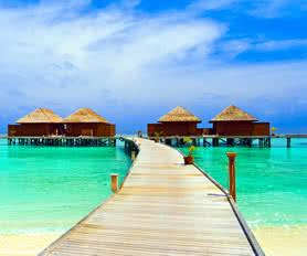 Maldivler balayı