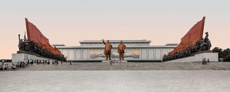 Mansu Tepesi Anıtları - Pyongyang