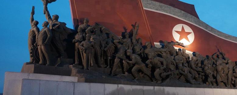 Mansudae Anıtı - Pyongyang