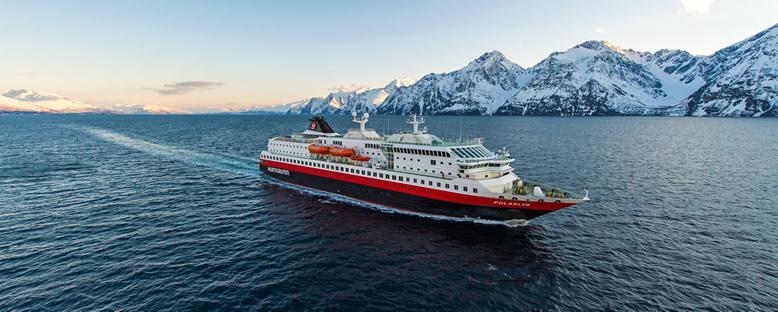Hurtigruten Cruise ile Kutup Işıkları Gemi Turu