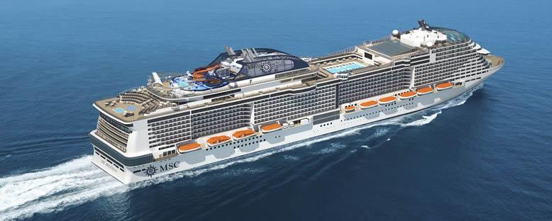 MSC Grandiosa ile Akdeniz Gemi Turu
