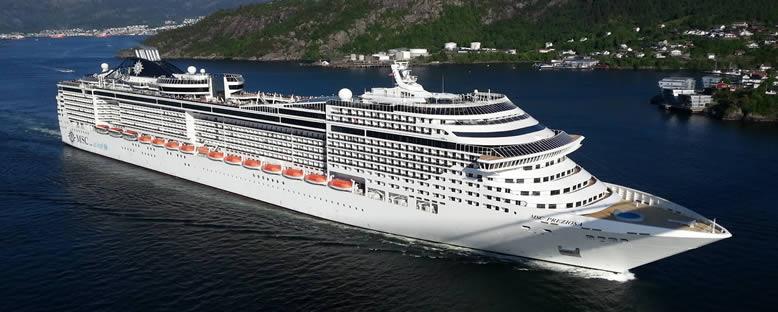 MSC Preziosa ile Kuzey Avrupa Gemi Turu