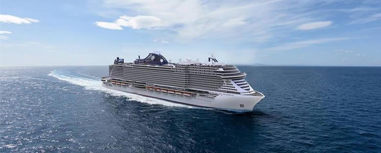 MSC Seashore Cruise Gemi Turu