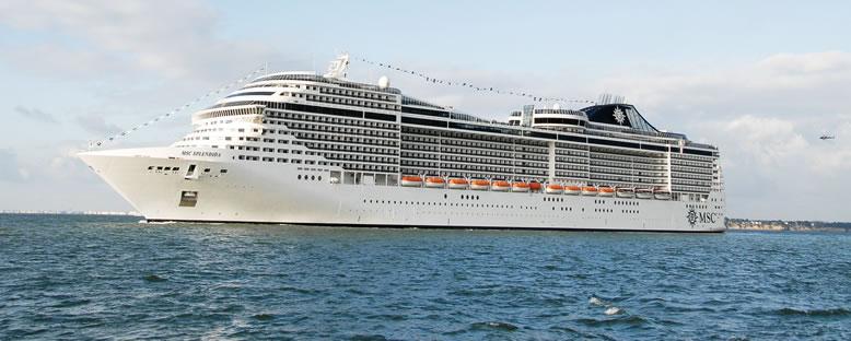 MSC Splendida Cruise Gemi Turu