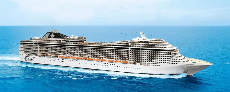 MSC Splendida Cruise Gemisi