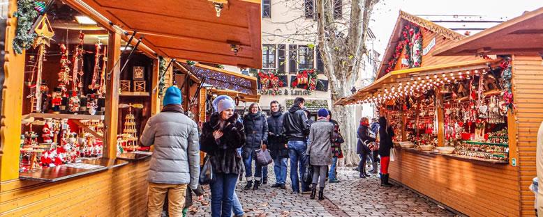 Noel Pazarı Dükkanları - Strasbourg