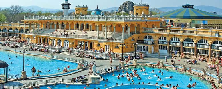 Szechenyi Kaplıcaları - Budapeşte