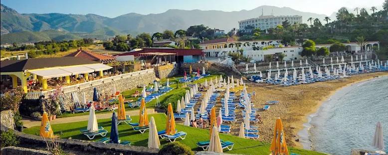 Özel Plaj Alanı - Lobi - Riverside Garden Resort