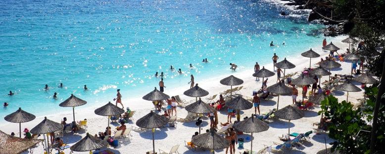 Papalimani Plajı - Thassos