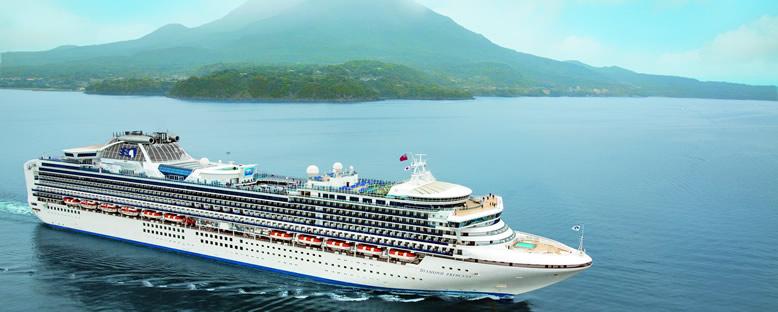 Diamond Princess ile Güneydoğu Asya Gemi Turu
