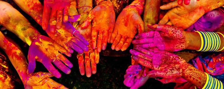 Renkler Festivali Holi - Hindistan