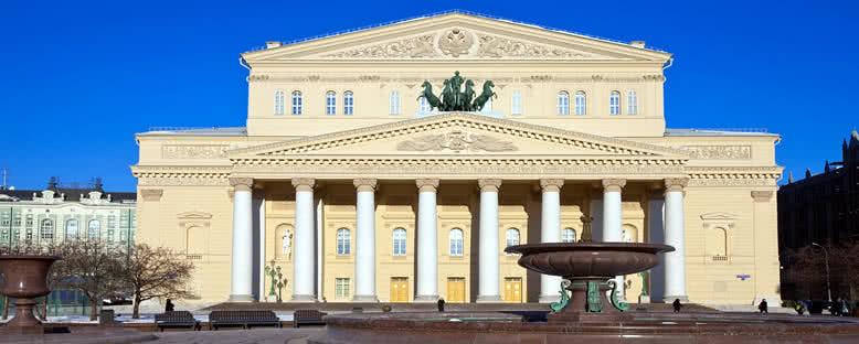 Bolşoy Tiyatrosu - Moskova