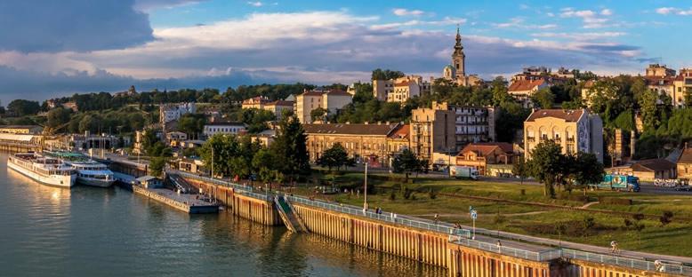 Sava Nehri'nden Görünüm - Belgrad