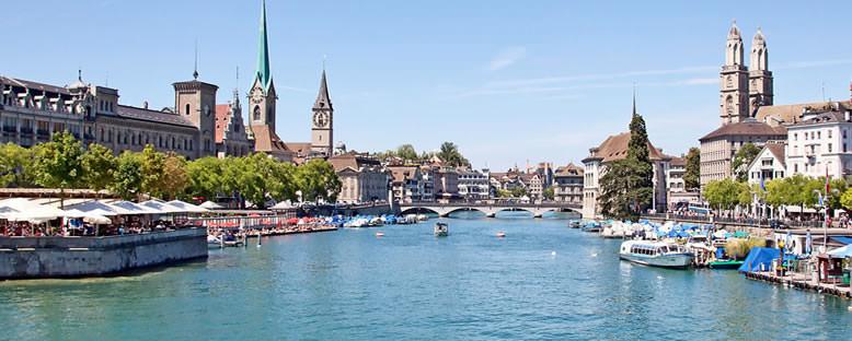 Nehir Kıyıları - Zürih