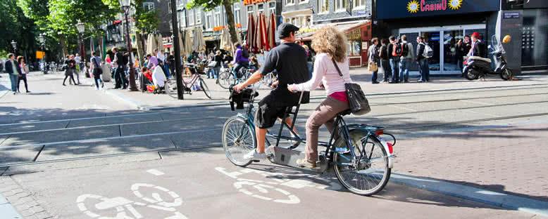 Tandem (İki Kişilik) Bisiklet Gezisi - Amsterdam