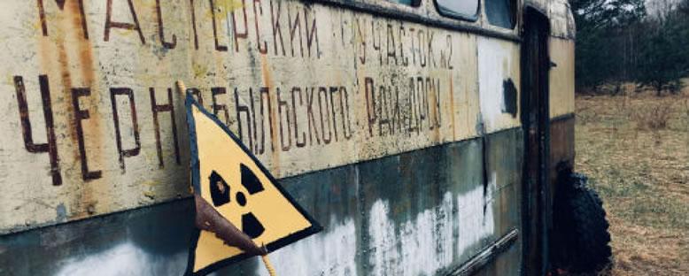 Terk Edilmiş Otobüs - Pripyat