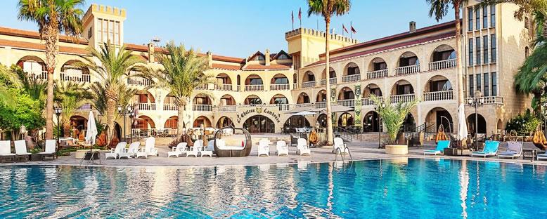 Tesis Görünümü - Le Chateau Lambousa Hotel