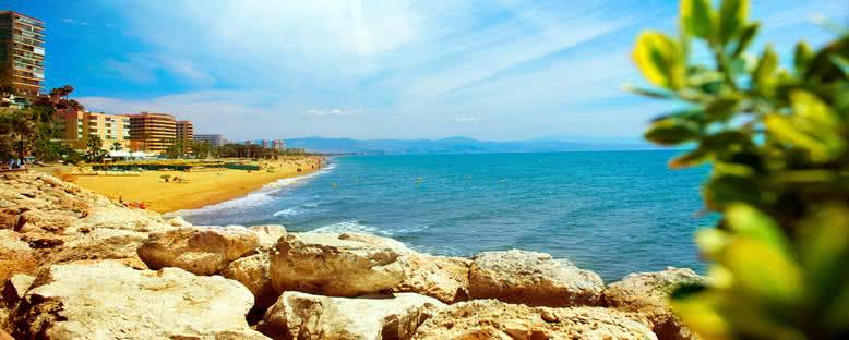 Torremolinos Kıyıları - Malaga