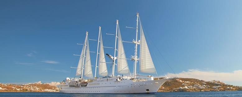 Wind Star Yelkenli Cruise Gemisi