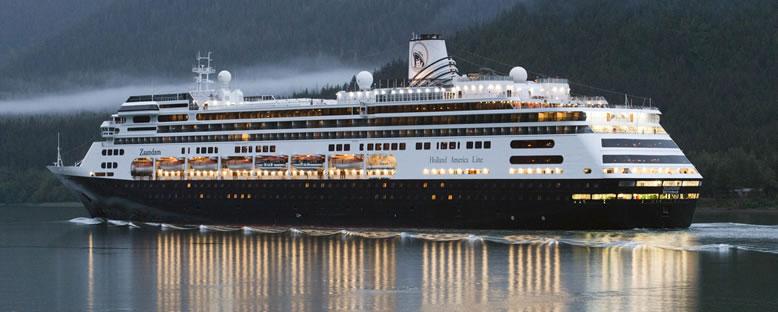 Zaandam ile Cruise Gemi Turu